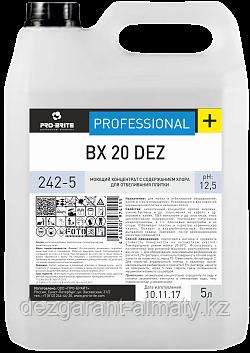 Моющий концентрат с содержанием хлора для отбеливания плитки BX 20 Dez