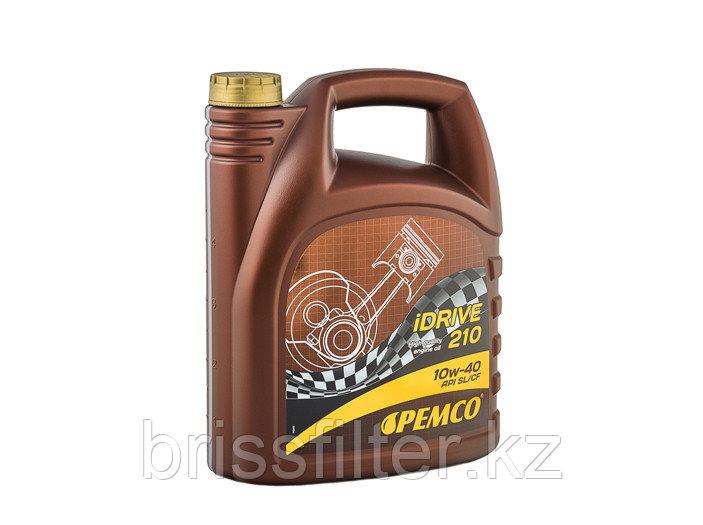 Полусинтетическое моторное масло PEMCO IDRIVE 210 SAE 10w40 5л