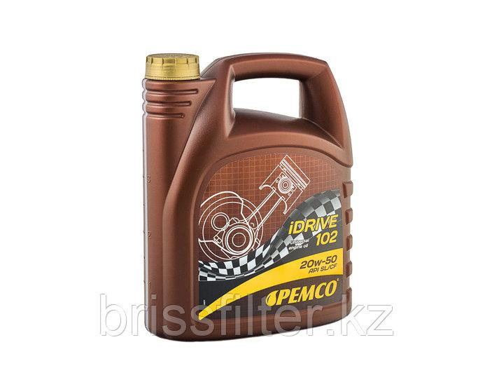 Минеральное моторное масло PEMCO IDRIVE 102 SAE 20w50 4л