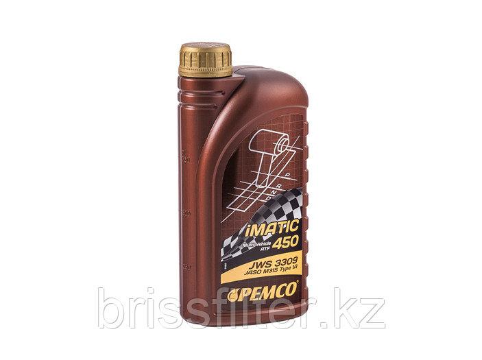 Масло трансмиссионное  PEMCO iMatik 450 JWS 3309 1л