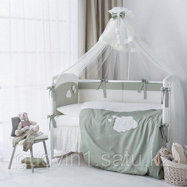 PERINA Комплект в кровать 6 предметов  Бамбино ОЛИВА | ББ6-01.1