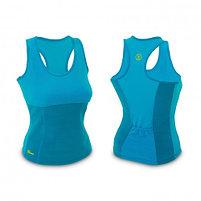 Майка для фитнеса Hot Shapers - размер М, цвет голубой, фото 2