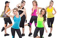 Майка для фитнеса Hot Shapers - размер М, цвет голубой, фото 3