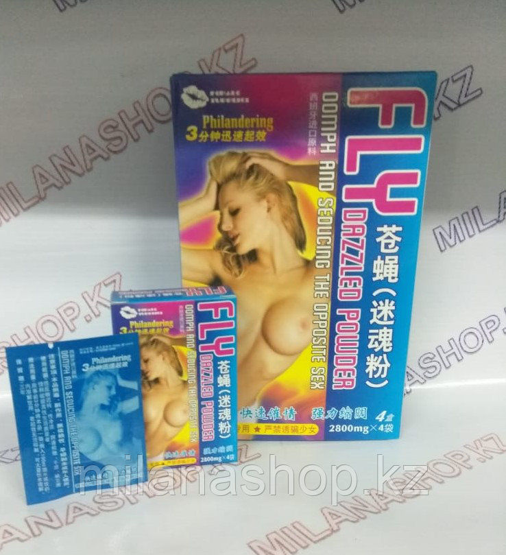 Fly Dazzled Powder - Женский порошок для возбуждения упаковка - 16 шт