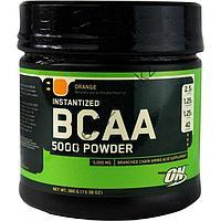 Optimum Nutrition BCAA 5000 powder, 380 г фруктовый пунш, апельсин