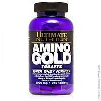 Аминокислоты Ultimate Nutrition Amino Gold Formula 1000мг, 250 таблеток