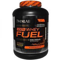 Протеин сывороточный TWINLAB 100% Whey Protein Fuel (2,27кг), фото 1