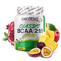 BCAA 2:1:1 Classic Powder Be First (200 гр), фото 1