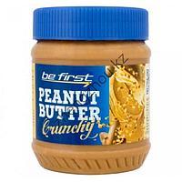 Арахисовая паста Be First Crunchy (кранчи) с кусочками дробленого арахиса (340 гр)