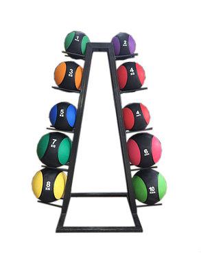 Медбол для фитнеса на 1 кг (медицинский мяч), фото 2