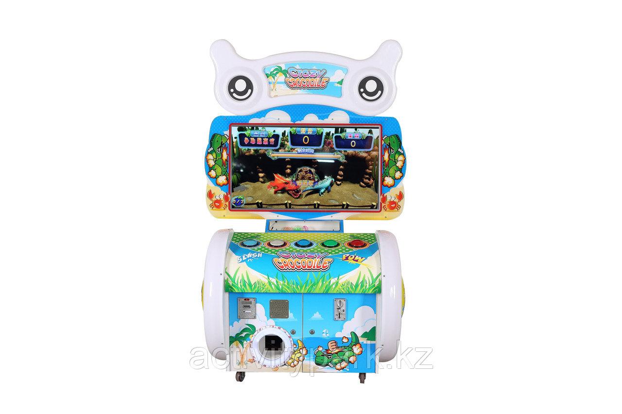 Игровой автомат для игровой комнаты - Crazy crocodile