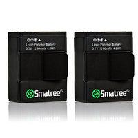 Smatree® Высоко емкая литий-полимерная батарея (1290mAH) для GoPro