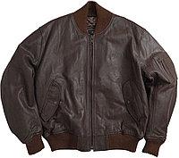 Alpha Industries Кожаная куртка Alpha Industries MA-1 Leather Flight Jacket