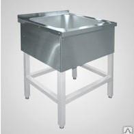 Ванна моечная 1-но секц. ВМП-6-1-5 РЧ (500х500х300) краш.разб.