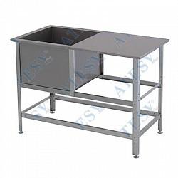 Ванна моечная со столом ВСМС-1/430