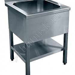 Ванна моечная 1-х секц. ВМП 6-1-5 РН (500х500х300) нерж.разб.