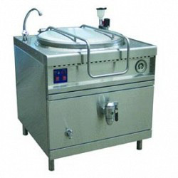 Котел пищеварочный КПЭМ-160/9 Т вся нерж. с тремя режимами нагрева