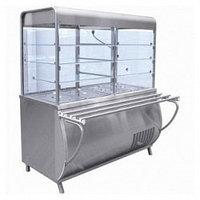 Прилавок-витрина холодильный ПВВ(Н)-70М-С-01 с гастроемкостями (саладэт закрыт., 1120 мм.)
