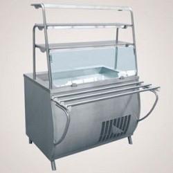 Прилавок холодильный ПВВ(Н)-70Т охлаждаемая ванна (открытый, 1120 мм.)