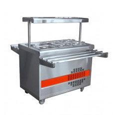Прилавок холодильный ПВВ(Н)-70ПМ (откр., полка с подсветкой, с г/емкост., 1120 мм.)