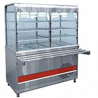 Прилавок-витрина холодильный ПВВ(Н)-70КМ-С-03-НШ вся нерж.