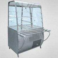 Прилавок-витрина холодильный ПВВ(Н)-70Т-С с гастроемкостями (саладэт закрыт., 1120 мм.)
