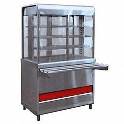 Прилавок-витрина тепловой ПВТ-70КМ (закрытая витрина, 1120 мм.)