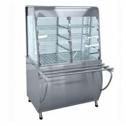 Прилавок-витрина тепловой ПВТ-70Т (закрытая витрина, 1120 мм.)
