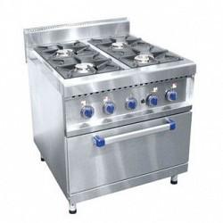 Плита газовая 4-х горелочная ПГК-49ЖШ (с газовой духовкой)