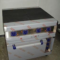 Плита электрическая ЭП-4ЖШ.1 /лицо нерж/ стандарт.духовка КЭТ-0,12