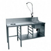 Стол предмоечный СПМП-6-7 (1700х671) для посудомоечной машины МПК-700К