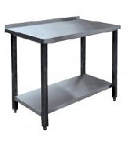 Стол производственныйСПРП 7-1 (800х700х850 ) пристен. нерж.
