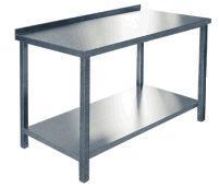 Стол производственныйСПРП 6-2 (1000х600х850 ) пристен. нерж.