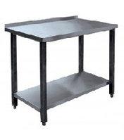 Стол производственный СПРП-6-1 (800х600х850) пристенный нерж.
