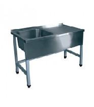 Стол для мойки овощей СМО-6-3 РН (1200х600х860) вся нерж.