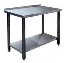Стол производственный СПРП-7-5 (1500х700х850мм) пристенн. нерж.