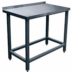 Стол производственный СПРП-6-4 (1400х600х850) пристенный краш.