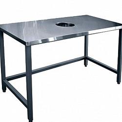 Стол для сбора отходов ССО-1 (800х700х850) краш