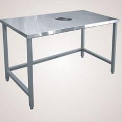 Стол для сбора отходов ССО-4 (1400х700х850мм) кар. краш.
