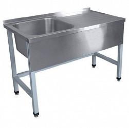 Стол для мойки овощей СМО-6-3 РЧ (1200х600х860 мм) краш.