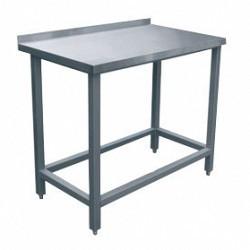Стол производственный СПРП-6-2 (1000х600х850) пристенный крашен.