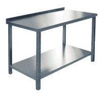 Стол производственный СПРП-6-1 (800х600х850мм) пристен. крашен.