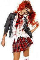 """Костюм на хеллоуин """"зомби школьница"""", фото 1"""