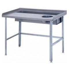 Стол овощной СО-2/1500/800 с комплектом стоек стола СО-2/1500/800