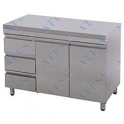Стол технологический СТ-2/1200 (с ящиками)