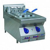 Фритюрница электрическая ЭФК-40/2Н (400*700*470) вся нерж.