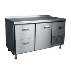 Стол холодильный СХС-70-02 (1925х700х860)среднетемп., гастронорм. с выкатными ящиками