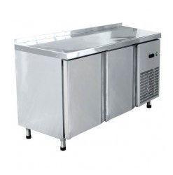 Стол холодильный СХС-60-01, 2-х дверный, среднетемпературный, t-(-2+8 С) (1500х600х860)