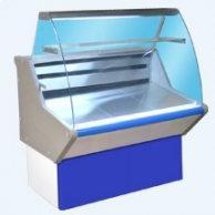 Витрина холодильная ВХС-1,0 Нова (гнут. стекло)
