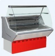 Витрина холодильная ВХСн-1,2 Нова (гнут. стекло)